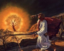 LESSON 31 – Moses and the Burning Bush – Exodus 3-4:17
